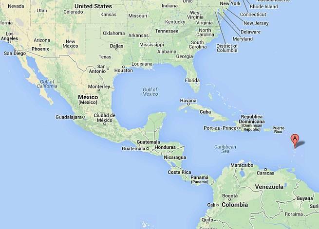 karibi mapa DNEVNIK HRVATSKOG USELJENIKA NA KARIBE: Dosta mi je Hrvatske  karibi mapa