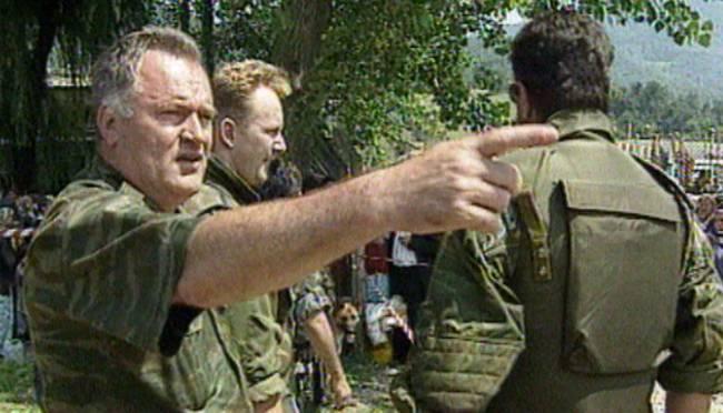 Ratko Mladić Srebrenica