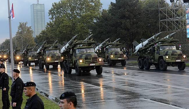 Beograd vojna parada