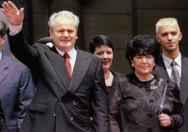 Mirjana Marković, Slobodan Milošević