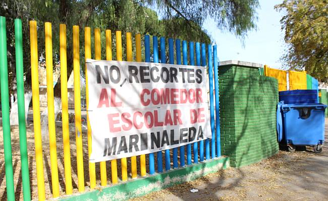 Marinaleda protest