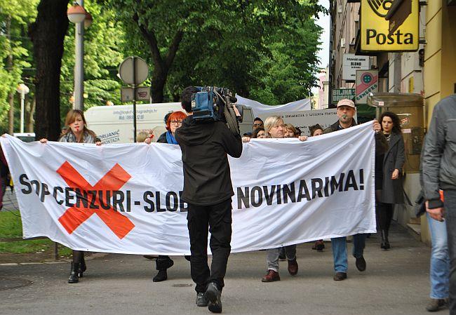 Prosvjed ministarstvo kulture