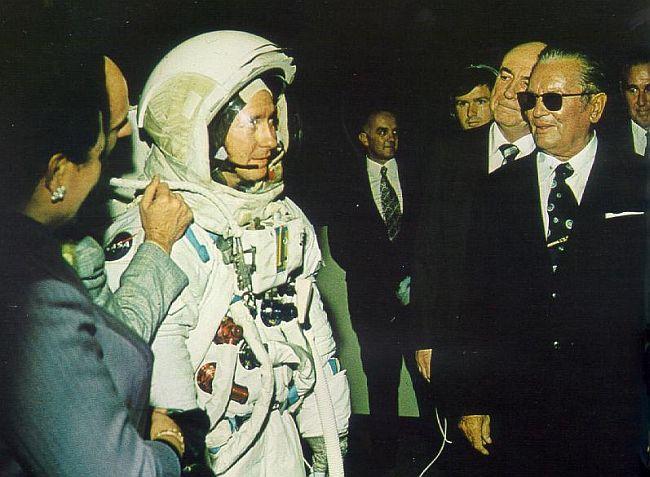 Tito astronaut