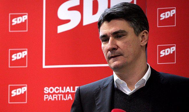 Zoran Milanović, SDP