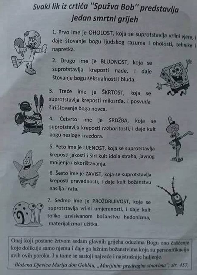 Spužva Bob - Novi Vinodolski