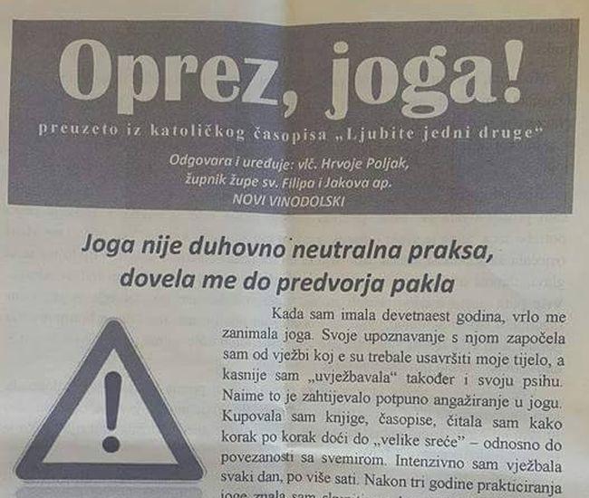Joga Novi Vinodolski