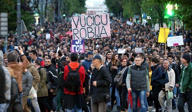 Beograd protesti