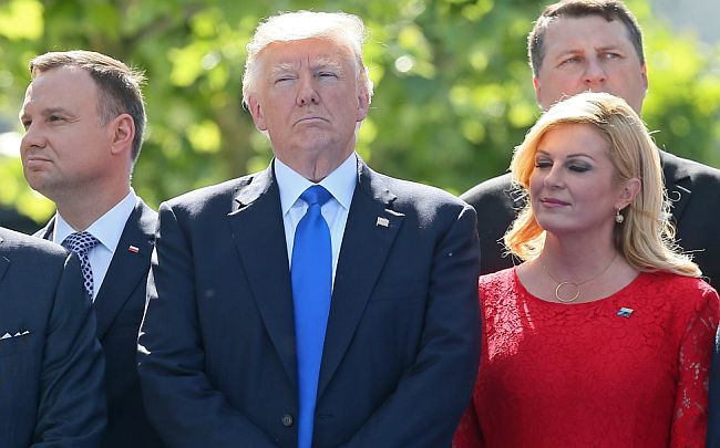 Donald Trump Kolinda Grabar Kitarović