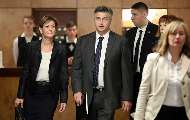 Andrej Plenković Martina Dalić