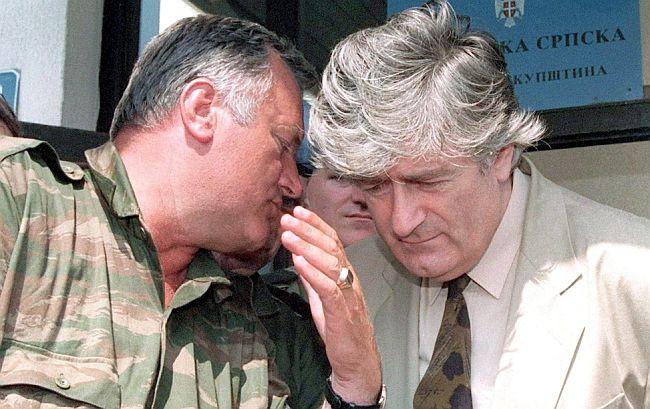 Ratko Mladić Radovan Karadžić