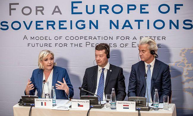 Le Pen Okamura Wilders