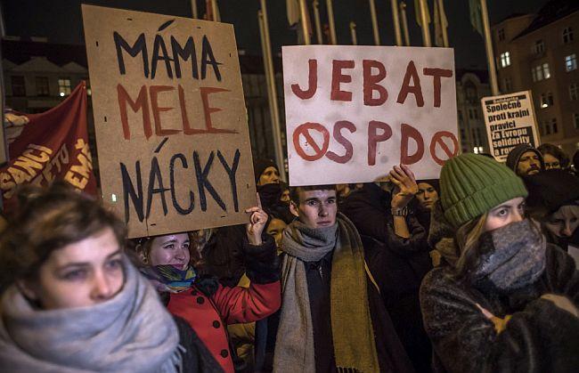 Prosvjed Prag