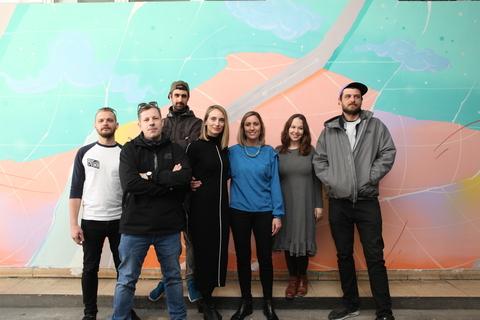 Autori s voditeljicom projekta i direktoricom HDLU