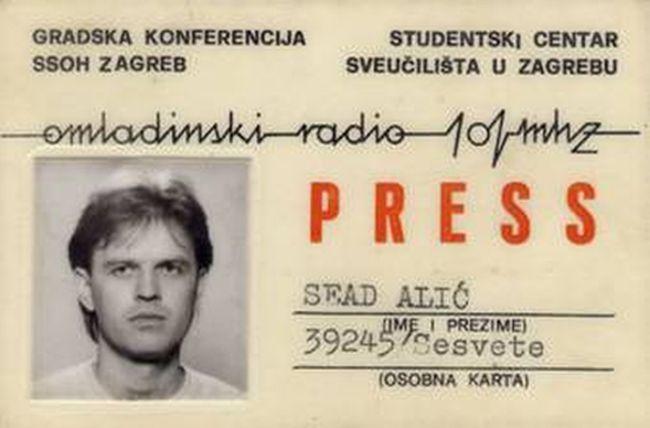 Sead Alić - Omladinski radio