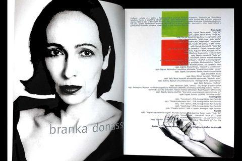 Modagram katalog Branka Donasy iz 1998. godine
