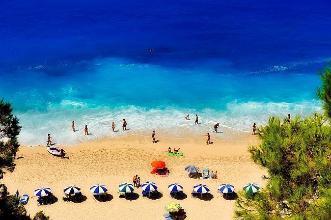 Grčka - plaža