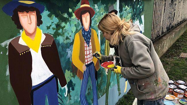 Smogovci - mural
