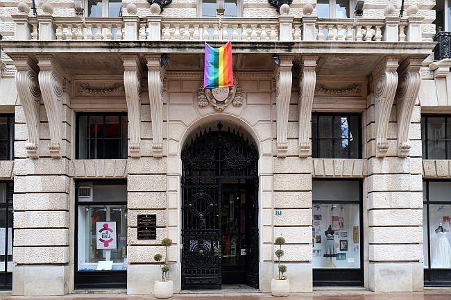 LGBT zastava Rijeka