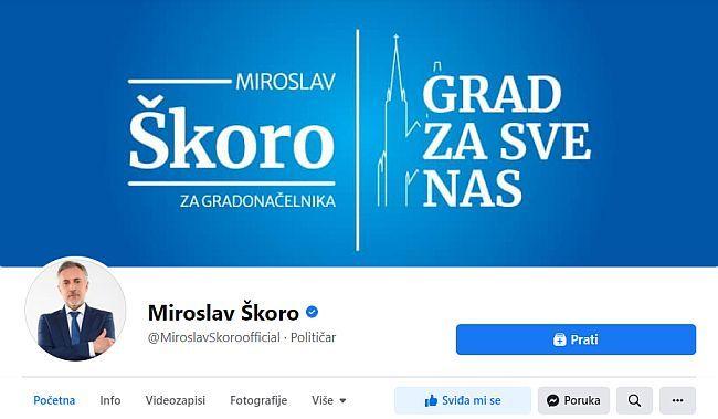 Miroslav Škoro Facebook