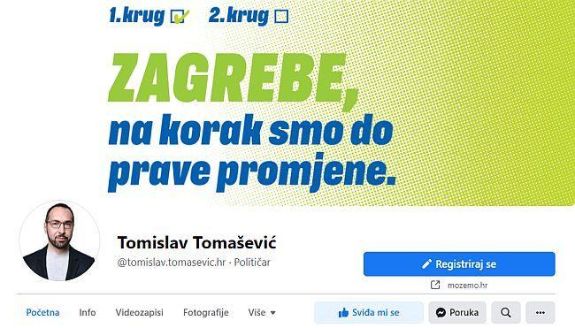 Tomislav Tomašević - Facebook