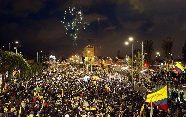 Kolumbija prosvjedi