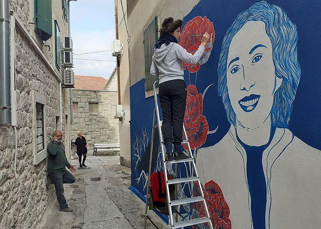 Palmina Piplović - mural