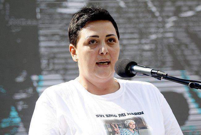 Protest Sarajevo - Pravda za Dženana i Davida
