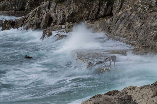 JADRANSKA ČETVRTINKA: More i vjetar izvodili su svoju predstavu samo za nas