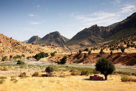 Irački Kurdistan, okolica mitskog sela Barzan iz kojeg potječu Barzaniji, vladajuća obitelj iračkog Kurdistana