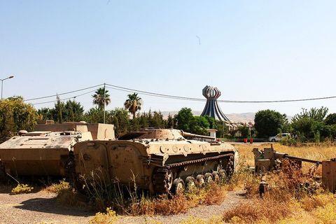 Spomen obilježje u Halabdži, u iračkom Kurdistanu, na najokrutniji, najmasovniji napad kemijskim oružjem na civile u povijesti, kada je režim Sadama Husseina u jednom danu pobio 5.000 i trajno osakatio između 7.000 i 10.000 ljudi