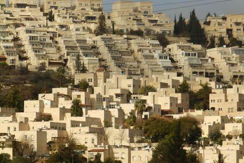 Kaskadna stambena arhitektura kod glavne jeruzalemske željezničke stanice Malha