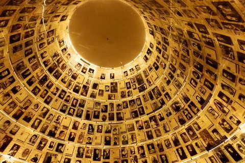 Dvorana imena, jedna od najpotresnijih prostorija u Jad Vašemu, memorijalnom centru za žrtve holokousta