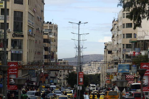 Kaotičan promet u centru Nablusa