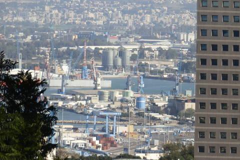 Haifa, pogled na najveću izraelsku luku