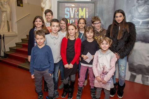"""Male autorice i autori filmskog plakata za """"Svemirski kamp"""""""